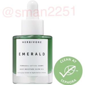 💚NEW!💚HERBIVORE Emerald Deep Moisture Glow Oil